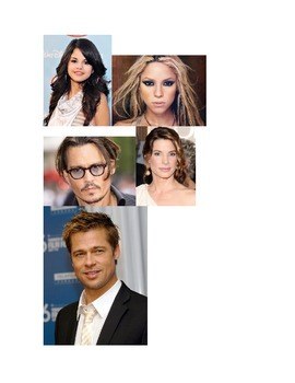 Spanish Celebrity Activity