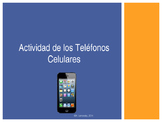 Spanish Vocabulary:  Cell Phone Activity