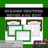 Spanish Centers: REVISE AND EDIT