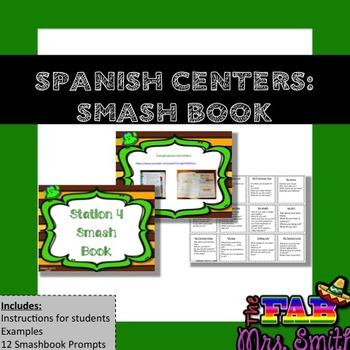 Spanish Centers: SMASH BOOK