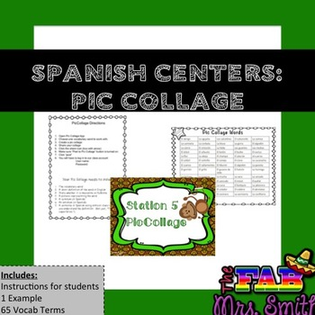 Spanish Centers: PICOLLAGE