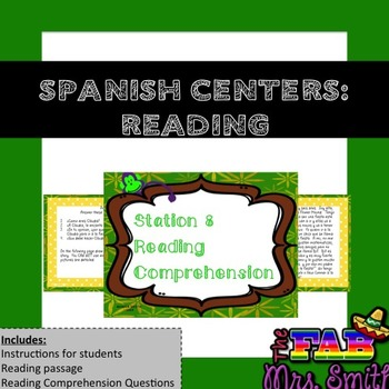 Spanish Centers: Reading