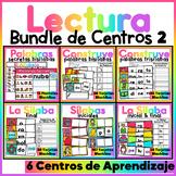 Spanish Literacy Center Bundle #2