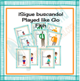 Spanish 1 Center: Describing People with Go Fish