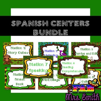 Spanish Centers Bundle