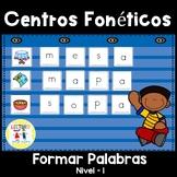 Spanish Phonics: Centros Foneticos 003: haciendo palabras: Nivel Basico