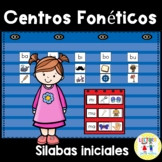 Spanish: Centros foneticos 002: Initial Sound/Syllable Pic