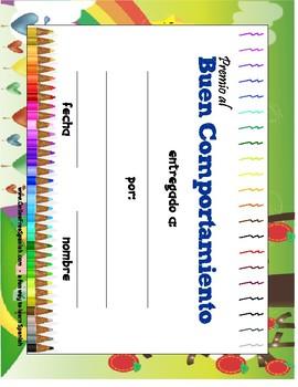 Spanish Certificates for your class - Diplomas en Español - ready to print