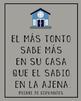 Spanish Cervantes quote posters - bundle of 10