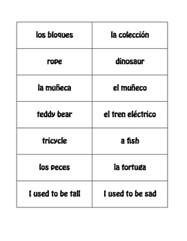 Spanish Childhood Buzz Game