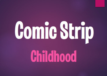 Spanish Childhood Comic Strip
