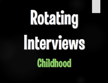 Spanish Childhood Rotating Interviews