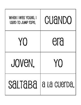 Spanish Childhood Sentence Mixer