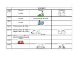 Spanish Chores Info Gap Activity