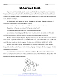 Spanish Chores Story - El garaje sucio