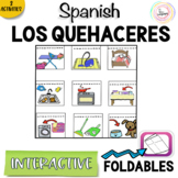 Spanish Distance Learning LOS QUEHACERES Chores Interactiv