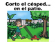 Spanish Chores and House Vocabulary Oral Practice Powerpoint