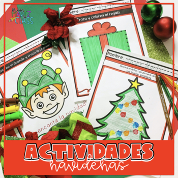 Spanish Christmas Activities