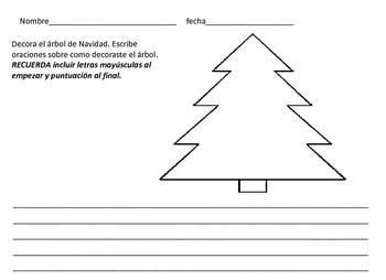 Spanish Christmas Navidad Activities Bundle