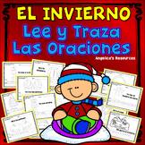 Spanish Winter Activities : Palabras de uso frecuente - Traza oraciones