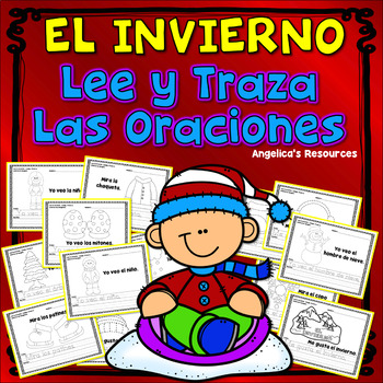 Spanish Winter Activities : Palabras de uso frecuente - Traza oraciones
