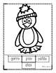 Christmas Spanish Activity-El Pinguino/The Penguin