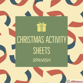 Spanish Christmas Activity Sheets