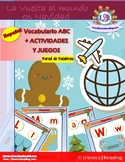 Spanish Christmas Around the World - ABC Flashcards - bili