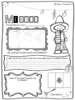 *Spanish Christmas Around the World Research Project | World Holiday Celebration
