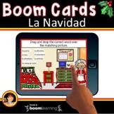 Spanish Christmas Activities | La Navidad Spanish Boom Cards