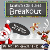 Spanish Christmas Breakout EDU