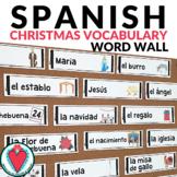 Spanish Christmas Bulletin Board - Word Wall - Christmas i
