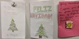 Spanish / English Christmas Card Phrases Sheet (Religious)