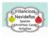 Spanish Christmas Carol Activities (Villancicos Navideños)