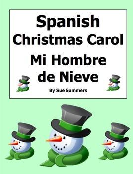 Spanish Christmas Carols / Mi Hombre de Nieve (Frosty) - Villancicos