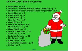 spanish christmas games activities navidad smart board - Christmas Games For Toddlers