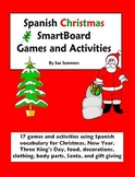 Spanish Christmas 17 Games & Activities - Navidad - Smart Board