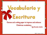 Spanish Christmas Games & Writing to Improve and Enhance V
