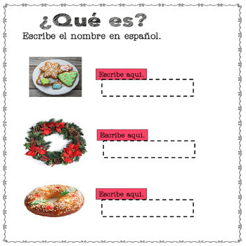 Spanish Christmas La Navidad Google Drive Activities and Culture Practice