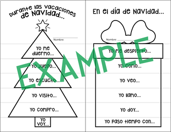Spanish Christmas/La Navidad: Interactive Notebook Bundle