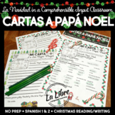 Spanish Christmas Letters to Santa and Reyes Magos Comprehensible Input Navidad