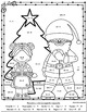 Spanish Christmas Math Fun / Addition & Subtraction Facts / Color by Number