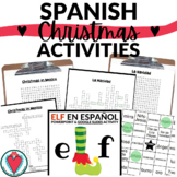 Spanish Christmas Activities Bundle