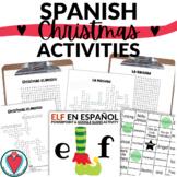 Spanish Christmas Activity Bundle for Spanish 1