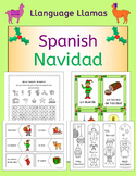 Spanish Christmas - Navidad - fun activities, worksheets,