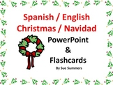 Spanish Christmas / Navidad Bilingual Flashcards & PowerPoint