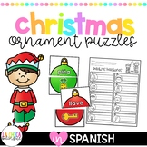 Spanish Christmas Ornament Puzzles