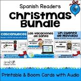 Spanish Christmas Readers Bundle Navidad   Print & Boom Cards   español
