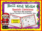 Spanish Christmas Past Tense Verb Activities