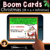 Spanish Christmas  | Spanish Boom Cards | Spanish Verb IR + a + Infinitive
